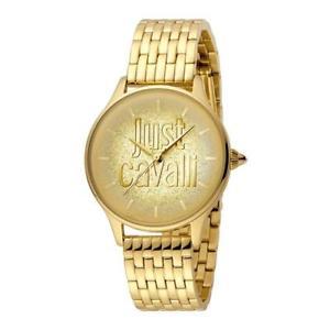 【送料無料】腕時計 ウォッチ テンポゴールドorologio solo tempo donna just cavalli acciaio pvd oro cristalli jc1l043m0035