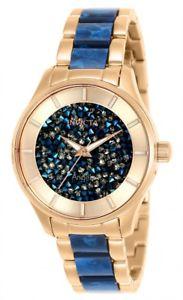 【送料無料】腕時計 ウォッチ トーンステンレススチールクオーツアラームinvicta mujer ngel cuarzo dos tonos acero inoxidable 100m reloj 25243