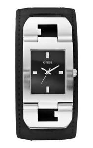 【送料無料】腕時計 ウォッチ アラームアナログguess reloj hombre w0066g1 analogico cuero negro
