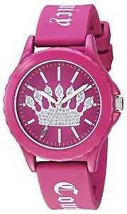 【送料無料】腕時計 ウォッチ ジューシークチュールピンクシリコンストラップjuicy couture correa de silicona rosa para jc1001hphp relojes 8
