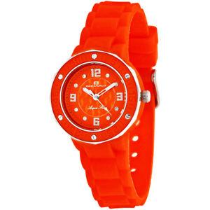 【送料無料】腕時計 ウォッチ スターレッドシリコンoceanaut mujer acqua estrella cuarzo cristales rojo reloj de silicona oc0440