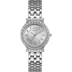 【送料無料】腕時計 ウォッチ スワロフスキーorologio donna guess blush w1062l1 bracciale acciaio swarovski