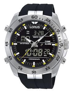 【送料無料】腕時計 ウォッチ クロノグラフクロックlorus reloj de hombre crongrafo rw619ax9