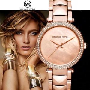 腕時計 ウォッチ オリジナルパーカーカラーoriginal michael kors reloj fantastico mk6426 parker color rosfarben kristallneu