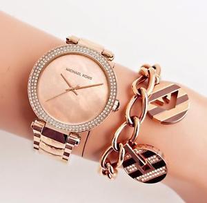 【送料無料】腕時計 ウォッチ オリジナルパーカーカラーoriginal michael kors reloj fantastico mk6426 parker color rosfarben kristallneu