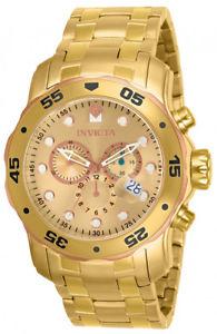 【送料無料】腕時計 ウォッチ プロダイバークォーツフィールドアラームinvicta hombres pro diver cuarzo 3 mano dorado esfera reloj 80071