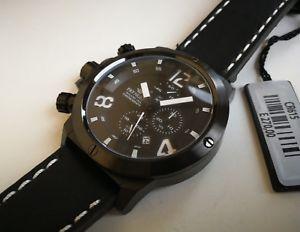 腕時計 ウォッチ クロノグラフカサビッグサイズorologio uomo pryngeps,cronografo,cassa big size xl 48 mm,polso destro,mancino