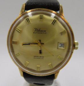 【送料無料】腕時計 ウォッチ ビンテージl262 vintage nitava pantalla fecha reloj pulsera mujer