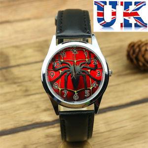 【送料無料】腕時計 ウォッチ スパイダーマンイギリスロゴnios nias reloj de logotipo para nios spiderman ** ** vendedor de reino unido