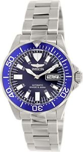【送料無料】腕時計 ウォッチ サファイアシグネチャアラームステンレススチールinvicta hombres firma zafiro automtico 200m reloj acero inoxidable 7042