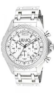 【送料無料】腕時計 ウォッチ アラームリュジョダービークロノスチールブレスレットreloj hombre liu jo luxury derby tlj833 chrono pulsera de acero oversize nuevo