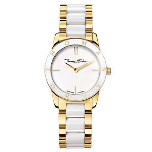【送料無料】腕時計 ウォッチ ゴールドホワイトトーマスレディーthomas sabo seora reloj pulsera de oroblanco wa0193262202