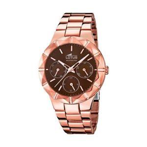 【送料無料】腕時計 ウォッチ ピンクゴールドメッキlotus trendy chapado oro rosa reloj para mujer 159212