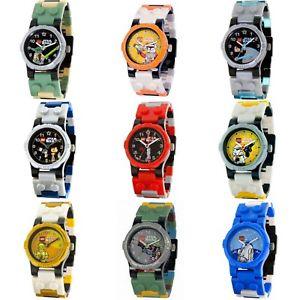 【送料無料】腕時計 ウォッチ レゴスターウォーズバットマンlegoclictime reloj de pulsera para nios star wars, ninjago, batman, city, etc