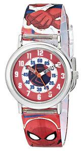 【送料無料】腕時計 ウォッチ クモデジタルクォーツプラスチックmarvel infantil hombre araa time teacher cuarzo digital plstico rojo reloj