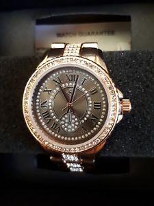 【送料無料】腕時計 ウォッチ カラーレディースゴールドローズseoras reloj de color oro rosa nuevo