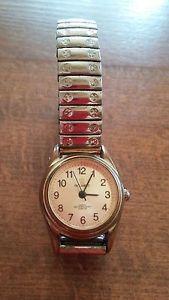 【送料無料】腕時計 ウォッチ コレクタニッケルフリーメタルブレスレットreloj pulsera de edad avanzada occident cuarzo reloj para coleccionistas nquel free metal pulsera watc