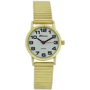 【送料無料】腕時計 ウォッチ ラヴェルソフトゴールドブレスレットステンレススチールストラップravel damas de oro de acero inoxidable suave expansin pulsera correa reloj r0208012
