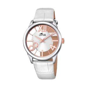 【送料無料】腕時計 ウォッチ ステンレスボックスクロックlotus trendy reloj con caja transparente en acero inoxidable 183051