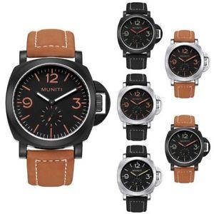 【送料無料】腕時計 ウォッチ ファッションmuniti hombres 2018 nuevo reloj de cuero de los hombres de moda militar rel l7a9