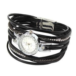 【送料無料】腕時計 ウォッチ アラームブレスレットreloj seora reloj pulsera cuarzo brazalete de pedrera con cirujana cierre magntico