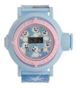 【送料無料】腕時計 ウォッチ アンナエルプロジェクションデジタルcongelada infantil annaelsa snowgies lcd digital proyeccin reloj de pulsera