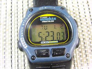【送料無料】腕時計 ウォッチ トライアスロンバッチウォッチoriginal timex iroman triatlon aos 90 sumergible 100m buen estado lote watches