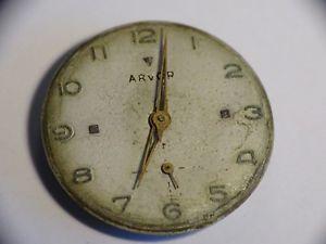 【送料無料】腕時計 ウォッチ ビンテージドvintage mouvement de montre mcanique arvor