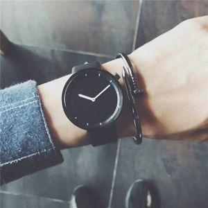 【送料無料】腕時計 ウォッチ シンプルデザインスタイリッシュクォーツファッションドロップminimalist stylish men quartz watches drop shipping 2018 fashion simple blac