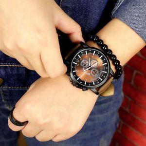 【送料無料】腕時計 ウォッチ ファッションウォッチクオーツビジネスレジャーバックルreloj de pulsera relojes de moda de cuarzomacho negocios luminoso ocio cuero hebilla