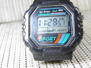 【送料無料】腕時計 ウォッチ ダニantiguo dani danicci electronico aos 80 funciona tiene un tuning lote watches