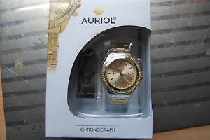 【送料無料】腕時計 ウォッチ bonito auriol chronograf para caballeros con strasteinchen y funciones adicionales