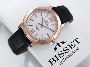 腕時計 ウォッチ スイスbisset bscd58 eliseus prestigio wr 5 atm swiss made para hombre reloj de pulsera