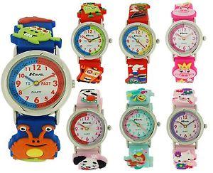 【送料無料】腕時計 ウォッチ ラヴェルravel nias nios infantil 3d diseo divertido reloj para aprender la hora