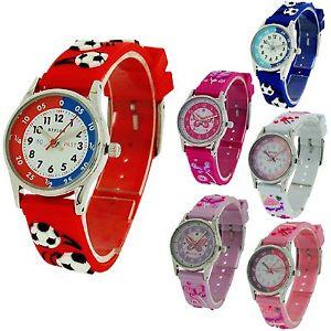 【送料無料】腕時計 ウォッチ レフシリコーンreflex 3d divertido reloj para aprender la hora infantil nia nio silicona