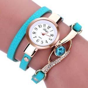 【送料無料】腕時計 ウォッチ クオーツmujer relojes pulsera envolvente cuero artificial cuarzo de