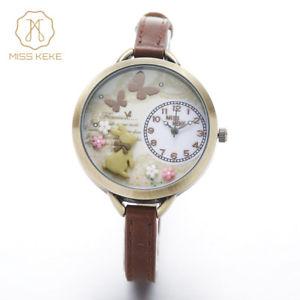 【送料無料】腕時計 ウォッチ ランファンケケミスミニワールドブレスレットmontre enfant miss keke 3d mini world clay cute kids women bracelet watches