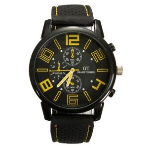 【送料無料】腕時計 ウォッチ グランドツーリングブレスレットシリコンクロック5xgrand touring reloj de brazalete reloj de pulsera de cuarzo de silicona a e4