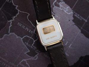 【送料無料】腕時計 ウォッチ ビンテージレトロnuevo anuncioseoras reloj de lcd vintage funcionando se vende como est retrohong kong
