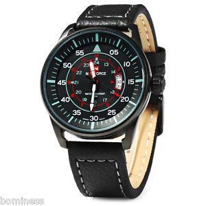 腕時計 ウォッチ アナログクォーツブレスレットnaviforce nf9044 hombre reloj de cuarzo analogico pulsera con fecha