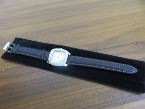 腕時計 ウォッチ エイボンパラジウムプレスリーシルバーreloj de pulsera avon palladium plateado nuevo marrn de hombre de presley
