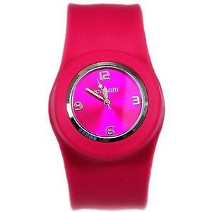 【送料無料】腕時計 ウォッチ クォーツムーブメントレディーピンククロックbofetada en movimiento de cuarzo reloj para dama esfera rosa sw007