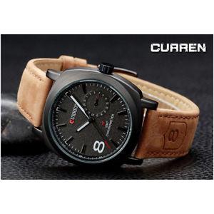 【送料無料】腕時計 ウォッチ スポーツアナログクォーツウォッチda curren uomo orologio analogico quarzo moderno sport watch zq