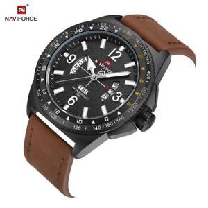 【送料無料】腕時計 ウォッチ カレンダーnaviforce 9103 hombres relojes de pulsera impermeable calendario fecha hora bf