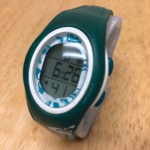 【送料無料】腕時計 ウォッチ ロキシーホワイトグリーンデジタルアラームストップウォッチクォーツroxy mujer 50m blanco verde alarma digital cronmetro reloj de cuarzo horas ~ la