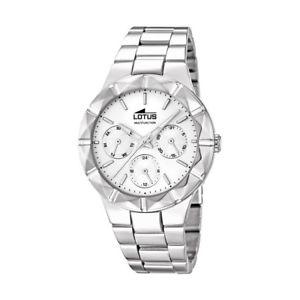 【送料無料】腕時計 ウォッチ トレンディクロックマルチファンクションスチールreloj lotus trendy mujer aceromultifuncin159191