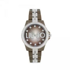 【送料無料】腕時計 ウォッチ ドナリューセレブスワロフスキーポリカーボネートorologio donna liu jo luxury celebrity tlj364 caff policarbonato swarovski