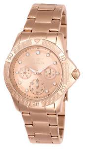 【送料無料】腕時計 ウォッチ ローズゴールドブレスレットピンクゴールドフィールドアラーム21765 invicta 365mm mujer oro rosa brazalete de acero oro rosa esfera reloj