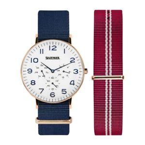 【送料無料】腕時計 ウォッチ アラームレトロボックスslazenger retro para hombre reloj sl91982201 con o sin caja 9499 2