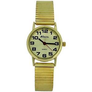 【送料無料】腕時計 ウォッチ ラヴェルソフトゴールドブレスレットステンレススチールストラップravel damas de oro de acero inoxidable suave expansin pulsera correa reloj r0208052